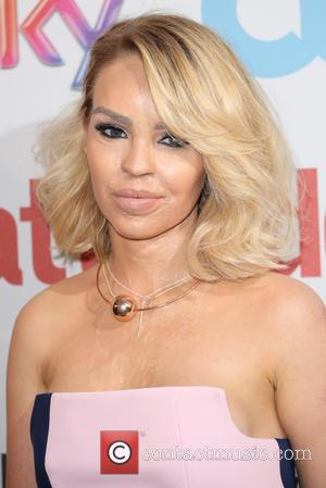 Katie Piper on the red carpet at the 2016 Attitude Awards, London, United Kingdom - Monday 10th October 2016