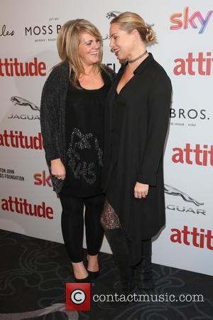 Sally Lindsay and Samantha Womack