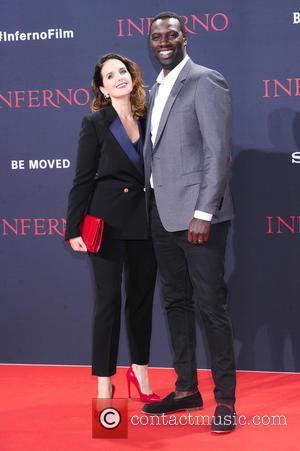 Helene Sy and Omar Sy