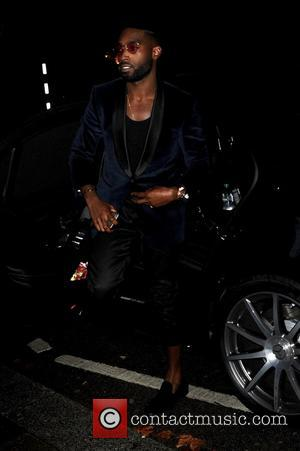 Tinie Tempah at Annabel's Club where they launched their new smoking jacket which is a collaboration with designer Casely-Hayford -...