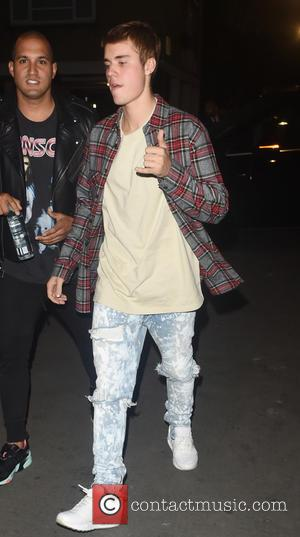 Justin Bieber Accidentally Runs Over Paparazzo While Leaving Church