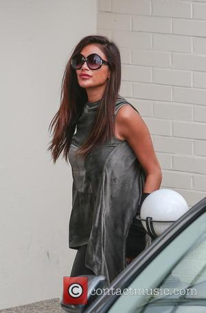 Nicole Scherzinger arrives at Fountain studios for X Factor rehearsals ahead of this weekend's live show at x factor -...