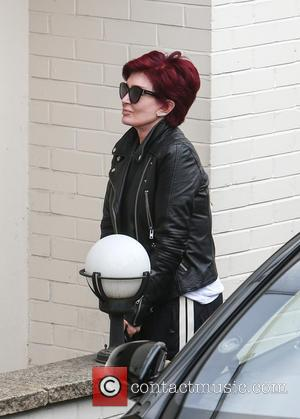 Sharon Osbourne arrives at Fountain studios for X Factor rehearsals ahead of this weekend's live show at x factor -...