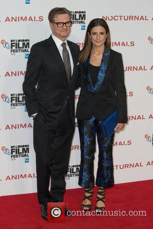Colin Firth and Livia Firth at the BFI London Film Festival premiere screening of 'Nocturnal Animals' held at the Odeon...