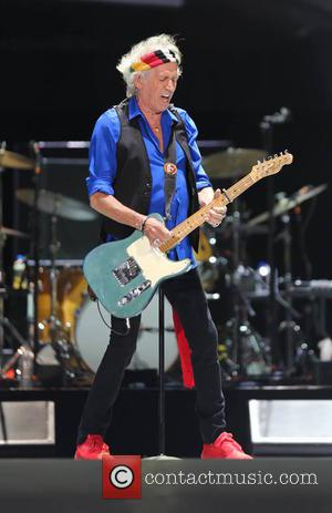 Keith Richards and The Rolling Stones