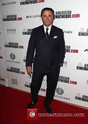 Andy Garcia seen arriving at the 30th Annual American Cinematheque Awards Gala held at The Beverly Hilton Hotel, Beverly Hills,...