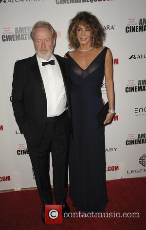 Ridley Scott and Giannina Scott