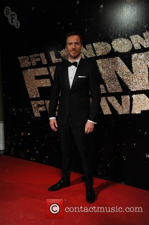 Michael Fassbender arriving at the BFI London Film Festival Awards held at Banquetting House London, London, United Kingdom - Saturday...