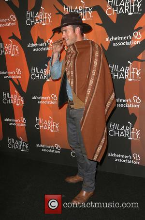 Scott Eastwood dressed as his dad's character 'Blondie' at the 5th annual 'Hilarity for Charity' Los Angeles Variety Show: Seth...