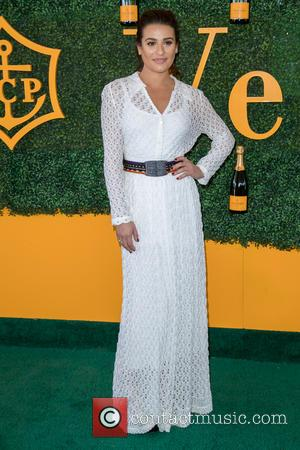 Lea Michele arrives at the 7th Annual Veuve Clicquot Polo Classic held at Will Rogers State Historic Park, Pacific Palisades,...