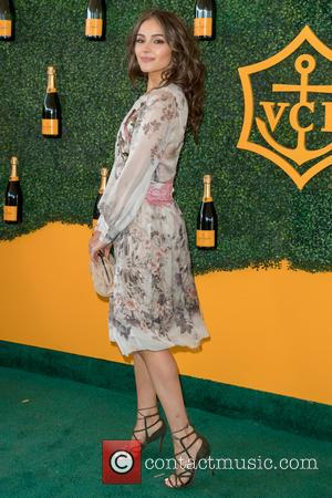 Olivia Culpo arrives at the 7th Annual Veuve Clicquot Polo Classic held at Will Rogers State Historic Park, Pacific Palisades,...