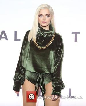Bebe Rexha at TIDAL X: 1015 Star-studded benefit concert hosted by TIDAL at the Barclay Center - New York, United...