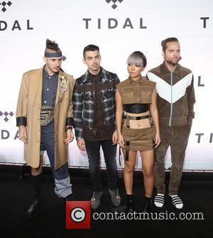 DNCE at TIDAL X: 1015 Star-studded benefit concert hosted by TIDAL at the Barclay Center - New York, United States...