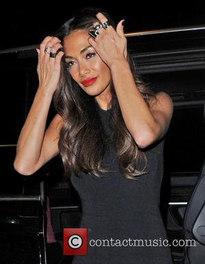 Nicole Scherzinger arrives at a London restaurant after 'The X Factor' live show - London, United Kingdom - Sunday 16th...