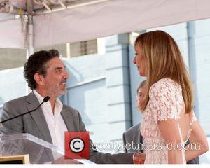 Chuck Lorre and Allison Janney
