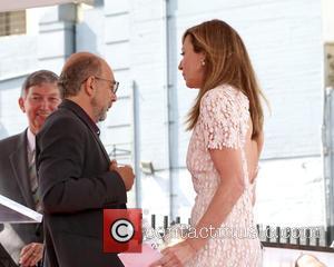 Richard Schiff and Allison Janney