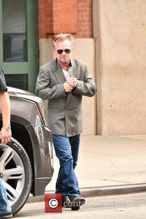 Musician John Mellencamp leaving his hotel in Manhattan, New York, United States - Monday 17th October 2016