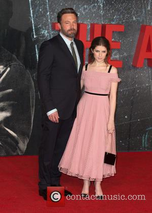 Anna Kendrick and Ben Afleck