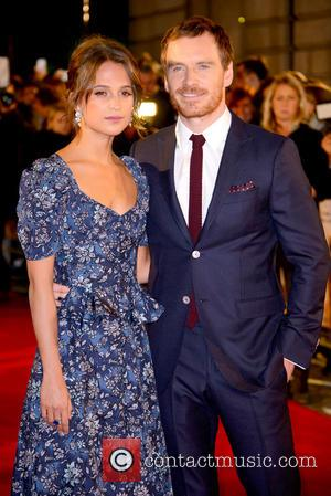 Alicia Vikander and Michael Fassbender