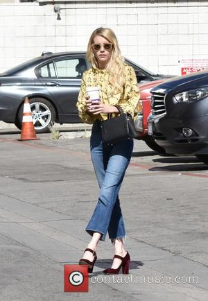 Actress Emma Roberts grabs a coffee while out and about in Beverly Hills, Los Angeles, California, United Kingdom - Wednesday...