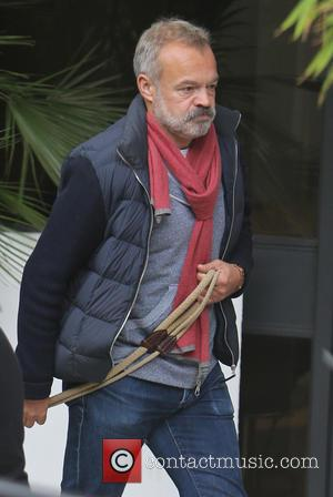 Graham Norton outside ITV Studios - London, United Kingdom - Wednesday 19th October 2016