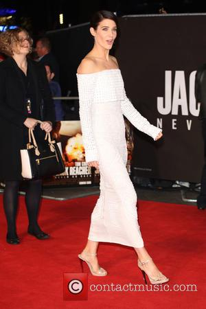 Actress Cobie Smulders at the UK premiere of Tom Cruise's new movie 'Jack Reacher: Never Go Back' - London, United...