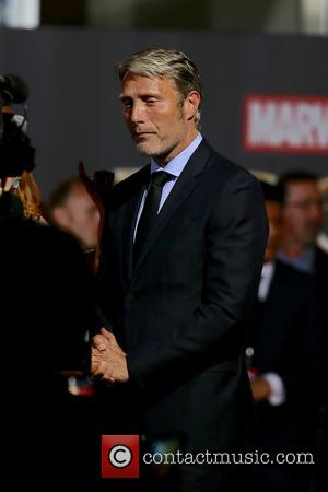 Mads Mikkelsen seen at the World Premiere of 'Doctor Strange' - Los Angeles, California, United States - Thursday 20th October...