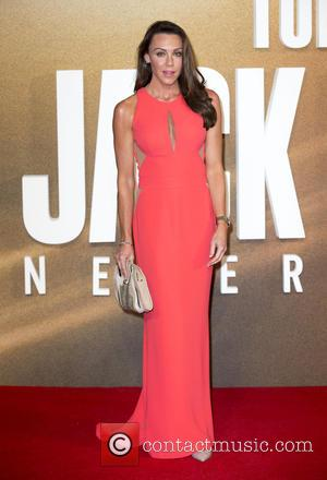 Michelle Heaton at the European premiere of Tom Cruise's new movie 'Jack Reacher: Never Go Back' held at Cineworld Leicester...