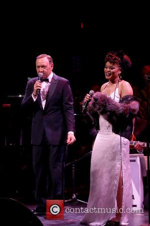 Kevin Spacey and Andra Day