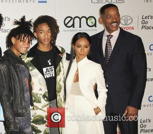 Will Smith, Jada Pinkett Smith, Willow Smith and Jaden Smith