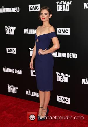 Lauren Cohan seen at a 90-Minute Special Edition Of 'Talking Dead' as presented by AMC held at Hollywood Forever, California,...