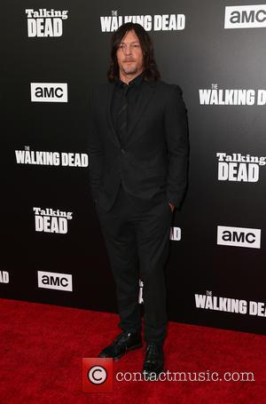 Norman Reedus seen at a 90-Minute Special Edition Of 'Talking Dead' as presented by AMC held at Hollywood Forever, California,...