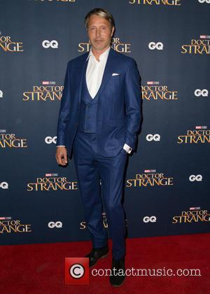 Mads Mikkelsen seen at the 'Doctor Strange' launch event held at The Cloisters, Westminster Abbey, London, United Kingdom - Monday...
