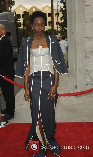 Danai Gurira seen at a special edition of 'The Walking Dead's Talking Dead' presented by AMC - Los Angeles, California,...