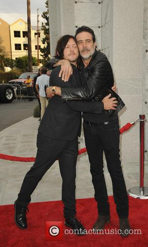 Jeffrey Dean Morgan and Norman Reedus