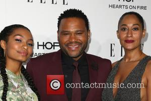 Yara Shahidi, Anthony Anderson and Tracee Ellis Ross