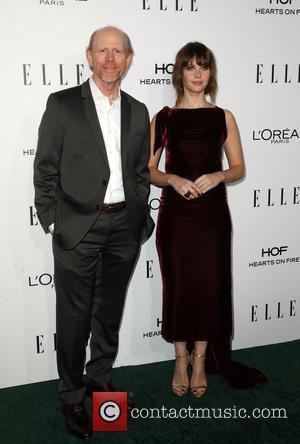Ron Howard and Felicity Jones