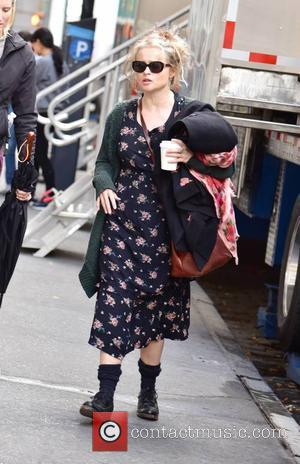 Helena Bonham Carter seen on the set of 'Ocean's 8' - New York City, United States - Tuesday 25th October...