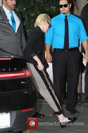 Various celebrities including Kristen Stewart and Annie Clark seen arriving at the CFDA Vogue party held at Chateau Marmont, Los...