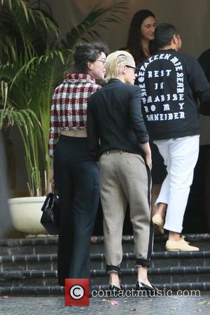 Kristen Stewart and Annie Clark