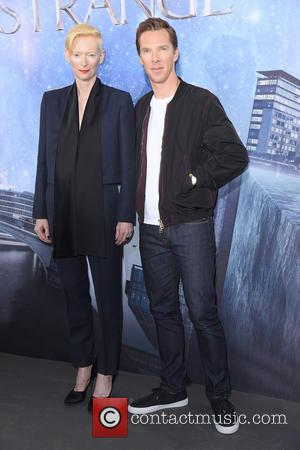 Tilda Swinton and Benedict Cumberbatch