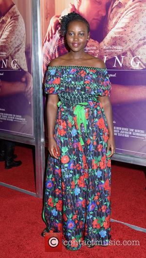 Lupita Nyong'o seen at the New York premiere of 'Loving' held at the Landmark Sunshine Theater - New York, United...