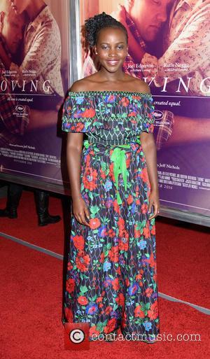 Lupita Nyong'o Goes Undercover As Pink Power Ranger At Comic-Con