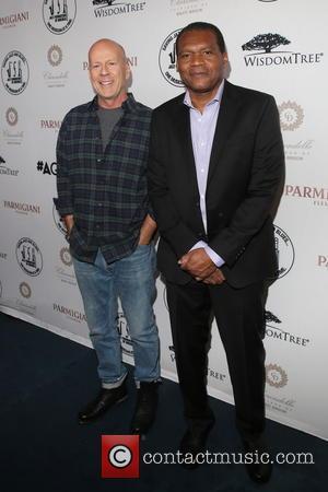Bruce Willis and Robert Cray