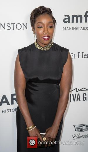 Estelle at the amfAR's Inspiration Gala Los Angeles held at Milk Studios, Los Angeles, California, United States - Thursday 27th...