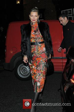 Various celebrities including Kate Moss attend a VIP party celebrating the works of Mert & Marcus held at Mark's Club...