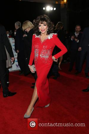 Joan Collins at the 2016 The Pride of Britain Awards held at The Grosvenor Hotel, London, United Kingdom - Monday...