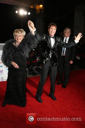 Gloria Hunniford and Cliff Richard