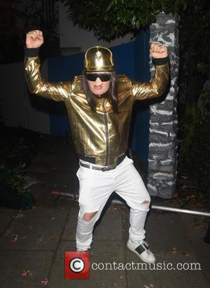 Alan Carr attends Jonathan Ross' annual Halloween party held at his home - London, United Kingdom - Monday 31st October...