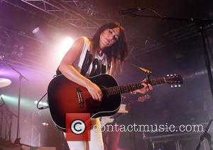 KT Tunstall performing at Liverpool's O2 Academy. KT and her band are currently promoting her new album 'KIN'. Liverpool, United...